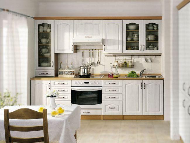 Кухня в фісташкове кольорі