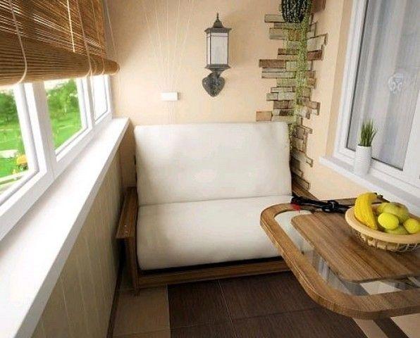 Фото - Ідеї   по облаштуванню балкона
