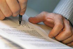 Підписання договору.