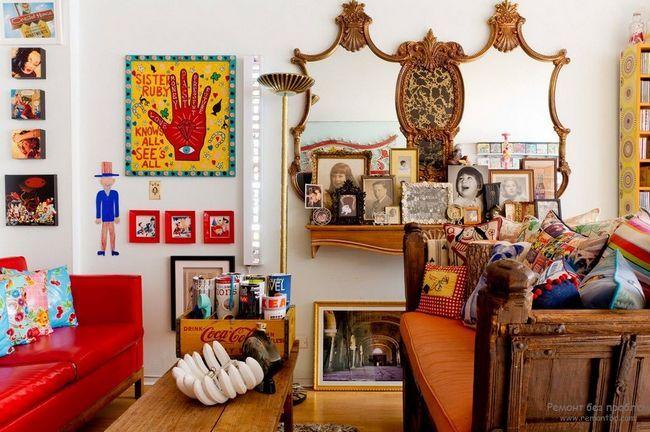 Фото - Вишивка в інтер'єрі: створи домашній колорит!