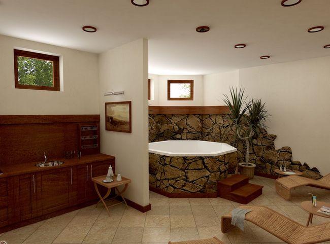Фото - Інтер'єр підвалу і цокольного поверху