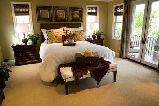 Фото - Інтер'єр спальні в американському стилі