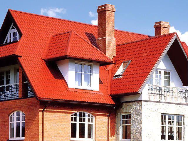 Фото - Використання металочерепиці для покриття дахів і основні її переваги