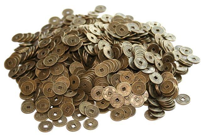 Фото - Використання в фен шуй китайських монет