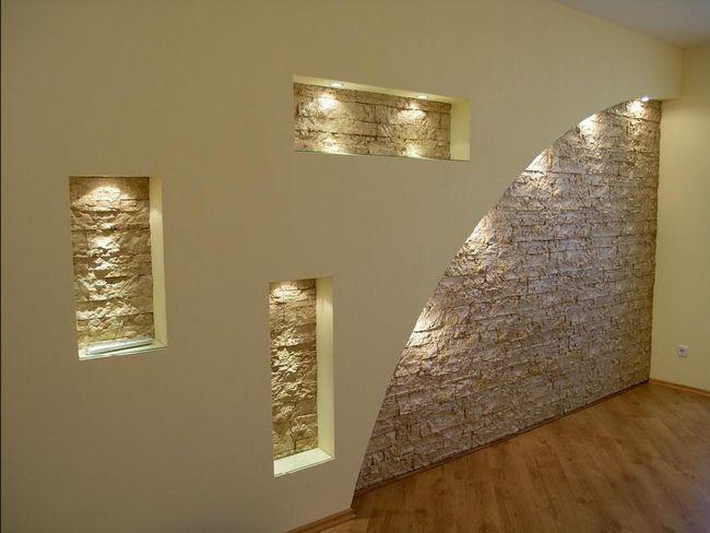Фото - Використовуємо гіпсокартон для зведення стін