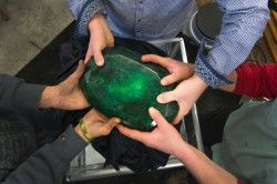 Найбільший зелений смарагд в світі
