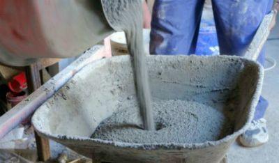 Цементний розчин для плитки.
