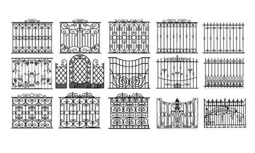 Фото - Виготовлення кованого паркану своїми руками