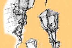 Різновиди кованих ліхтарів