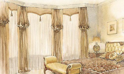 Фото - Виготовлення штори рукав єпископа своїми руками