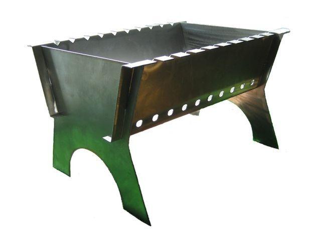 Фото - Виготовлення складного металевого мангала