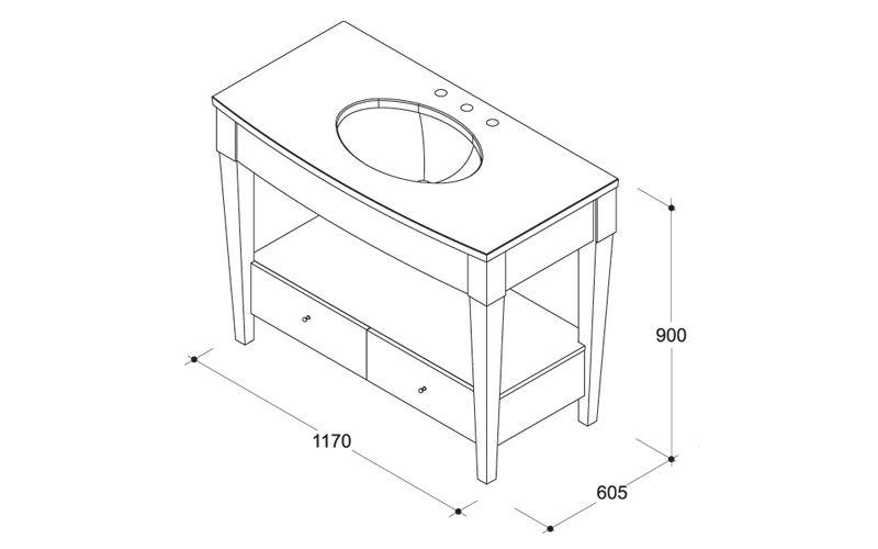 Фото - Виготовлення стільниці під раковину у ванній з керамічної плитки