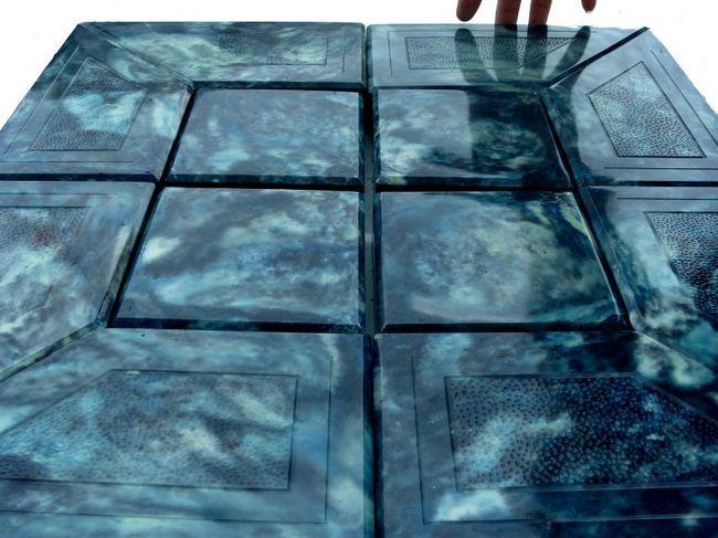 Фото - Виготовлення своїми руками мармуру з бетону для оздоблювальних робіт