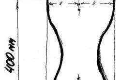 Креслення ніжки табурета