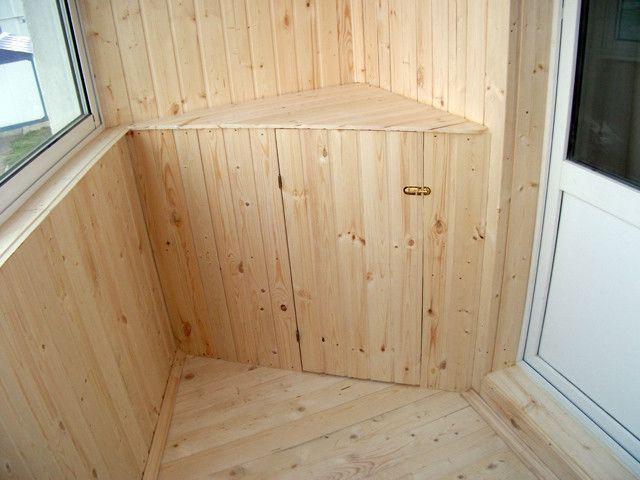 Виготовлення тумби на балкон