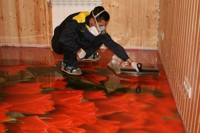 як правильно робити наливна підлога