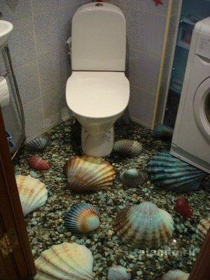 як роблять 3д наливні підлоги