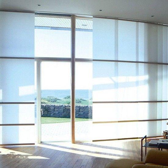 Японські панелі штори фото