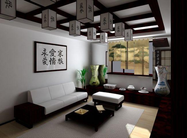 Фото - Японський стиль в інтер'єрі квартири