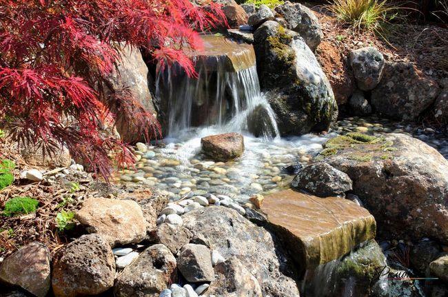 Гроти з водоспадом - дуже ефектне видовище