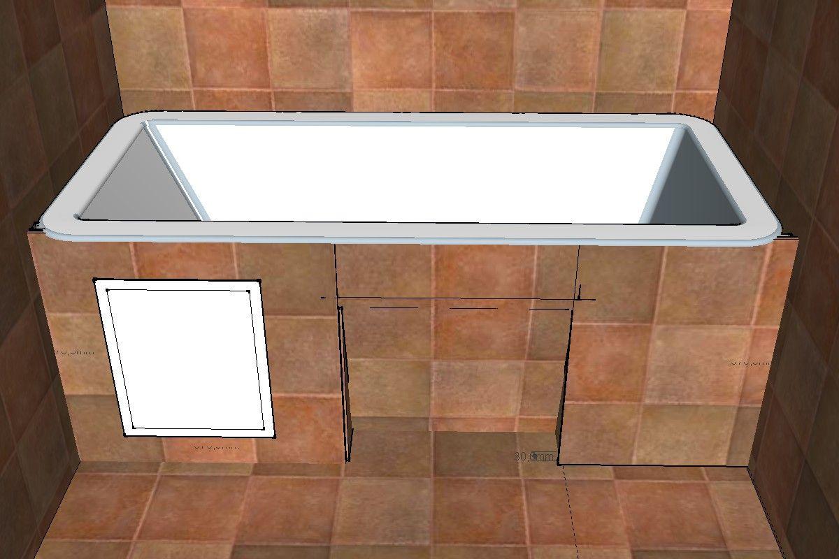 Екран під ванну