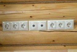 електропроводка в деревяному будинку
