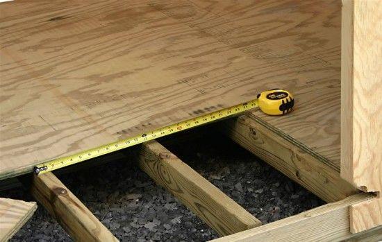 Фото - Етапи пристрою чорнової підлоги в дерев'яному будинку