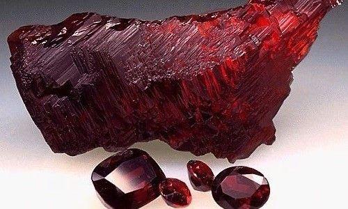 Камінь гранат