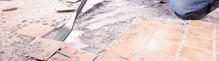 Якісний демонтаж кахельної плитки