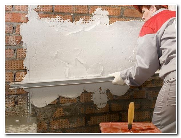 Фото - Як швидко і правильно штукатурити цегляні стіни?
