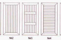 Варіанти обшивки дверей вагонкою