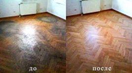 Фото - Як робиться циклювання дерев'яної підлоги без пилу і шуму