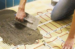 Фото - Як робиться тепла підлога електричний під плитку?