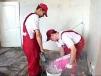 Фото - Як робити стандартні наливні підлоги у вітальні і на кухні?