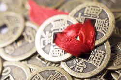 Китайські монети процвітання.