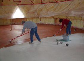 Фото - Як і чим можна виконати фарбування бетонної підлоги?