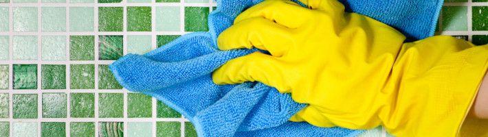 Фото - Як і чим мити кахельну плитку на стіні і на підлозі у ванній кімнаті
