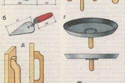 Обробка оштукатурених поверхонь теркою з повстяним покриттям