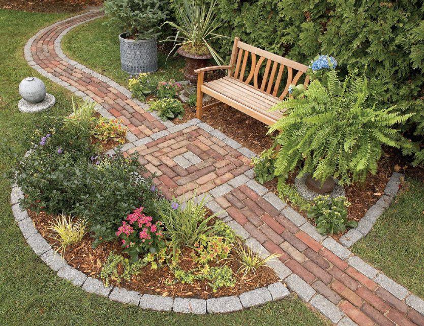 Пристрій садових доріжок з різних матеріалів