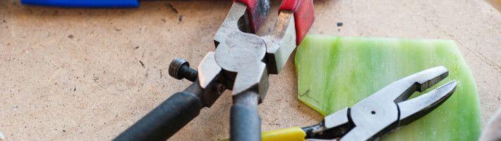 Фото - Як і яким інструментом різати мозаїчну плитку?