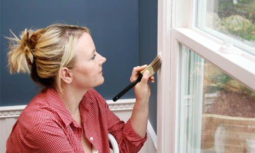 Фото - Як і коли пофарбувати вікно?