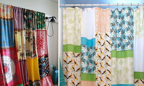 Фото - Як із залишків тканини своїми руками зшити красиві штори?