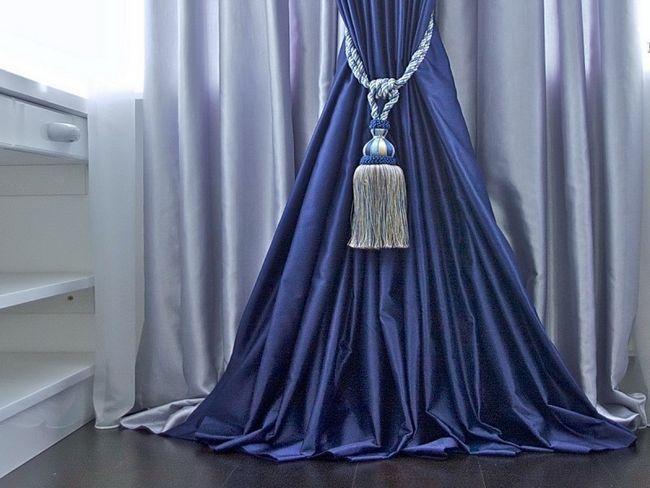 Фото - Як виготовити кисті для штор своїми руками?