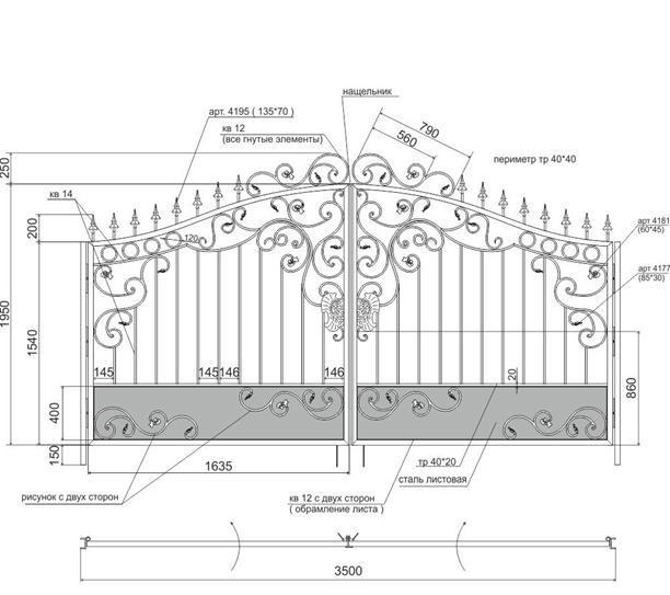 Як виготовити своїми руками ковані декоративні елементи?