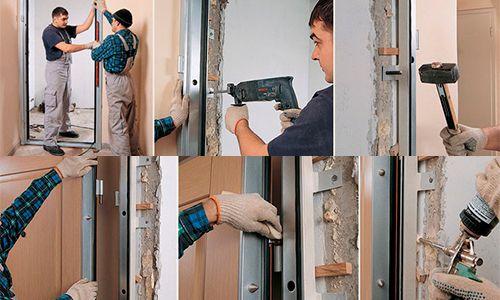 Фото - Як якісно своїми руками зробити установку металевих дверей