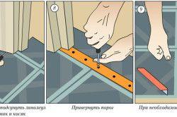 Порядок укладання лінолеуму