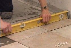 укладка плитки для підлоги