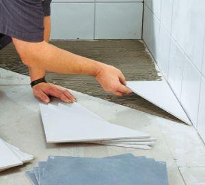 як класти плитку для підлоги
