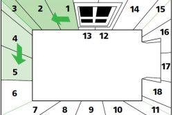 Рекомендований порядок поклейки шпалер в кімнаті