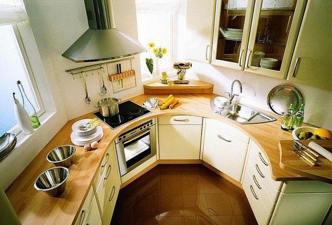 облаштована кухня